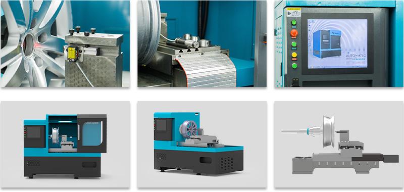 28 inch wheel diamond cut machine LSC100 details